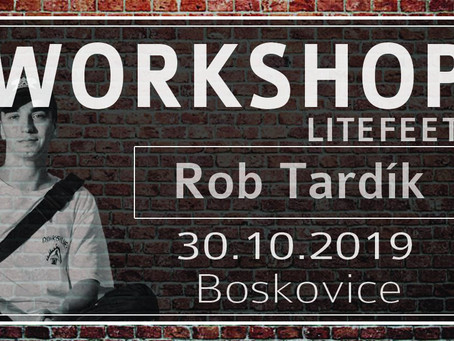 Workshopy Litefeetu s Robem