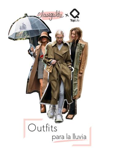 Outfits para la lluvia