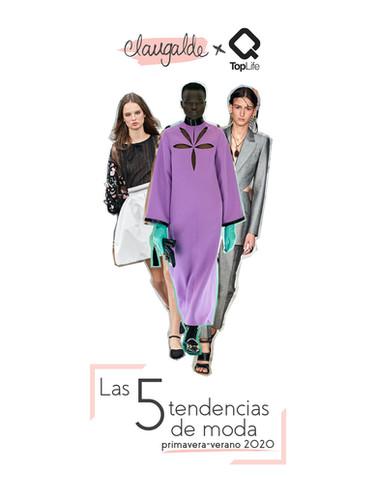 Las 5 tendencias de moda primavera verano 2020
