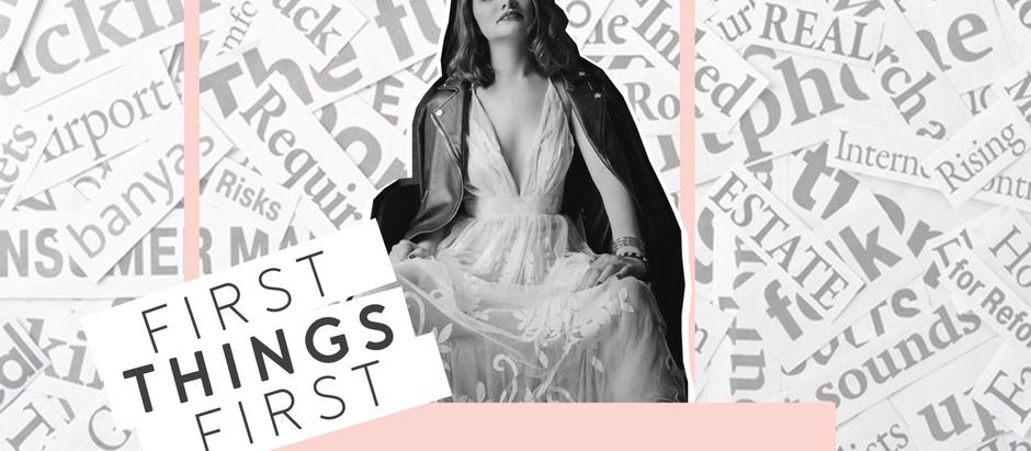 "First Things First: ""Cuando cumplir años me pegó"""
