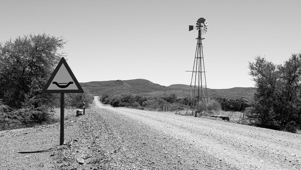 Classic Karoo road