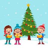 Niños Felices Navidad Cantar Musical (1)
