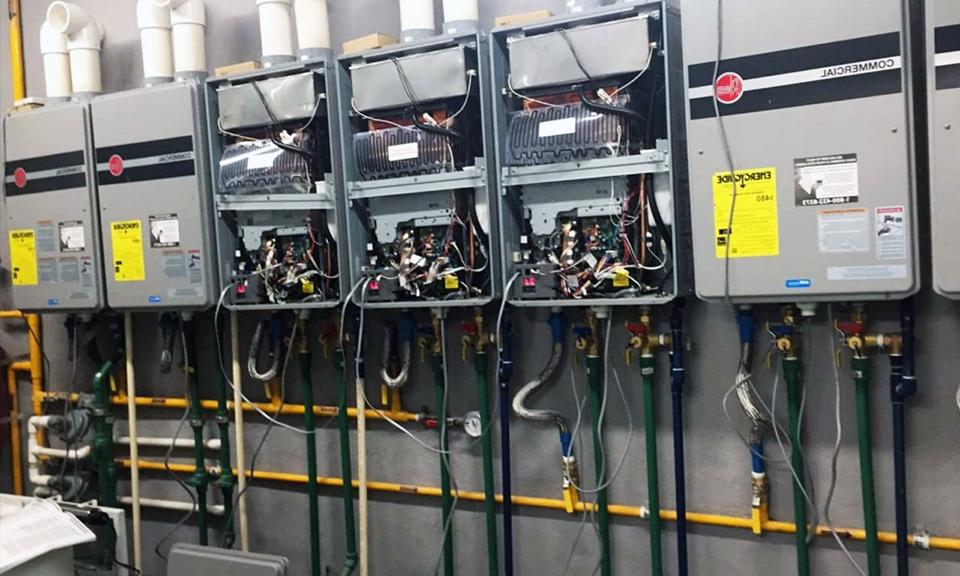 Racks de calentadores