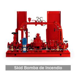 Skid Bomba de Incendio