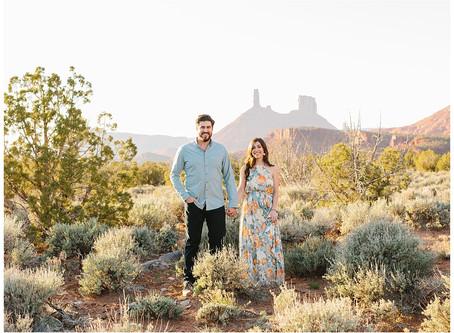 Moab Utah Engagement Session | Matt and Bridgett