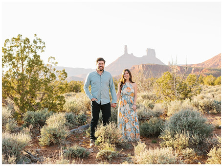 Moab Utah Engagement Session | Matt and Bridgett