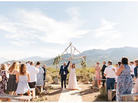 Church Of Dirt Intimate Wedding, Park City Utah | Nate + Ally