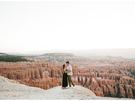 Bryce Canyon National Park All Film Adventure Session | Jorge + Alyssa