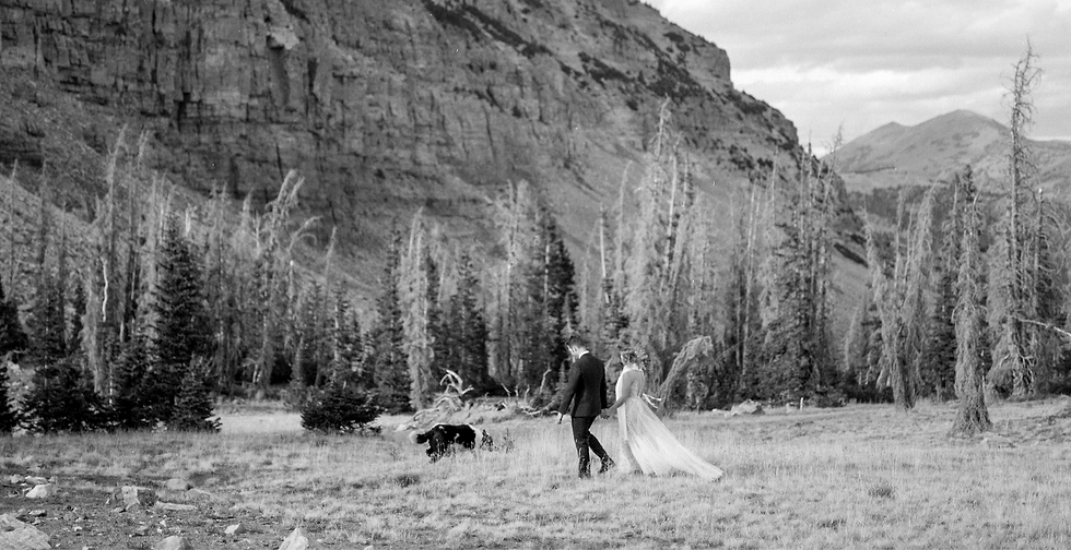 Utah film elopement photographer