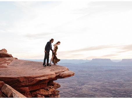 Moab, Utah Engagement Photos | Evan + Elly