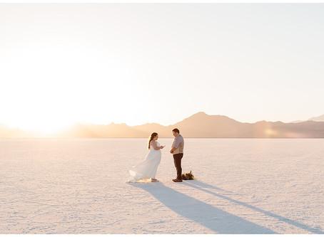 Utah Boneville Salt Flats Elopement | Kevin and Tiffany