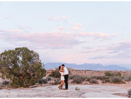 Under Canvas Moab Elopement | Dan + Sandie