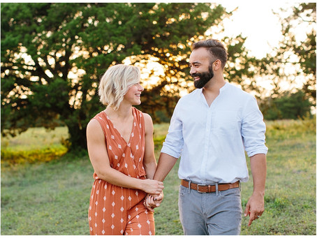 Midlothian, Texas Couples Session | Betsy and Andre