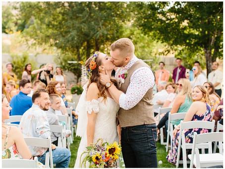 Ogden, Utah Backyard Wedding | Kyelee and Brian