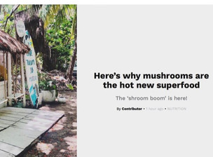 Here's why mushrooms are the hot new superfood...