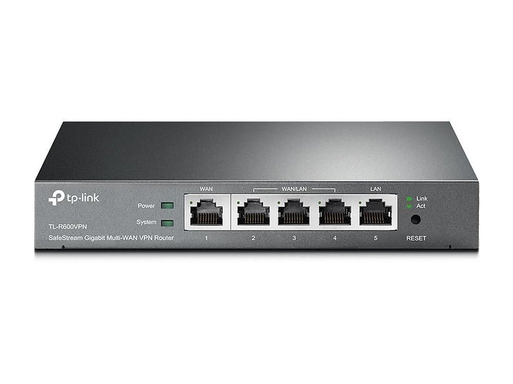 TP Link SafeStream Gigabit Broadband VPN Router - TL-R600VPN