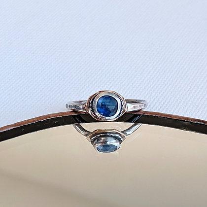 Rose Cut Kyanite Ring