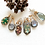 Thumbnail: Prong Set Emerald Necklace