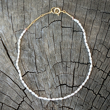 Knotted Pearl Anklet