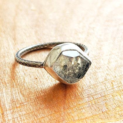 Herkimer Diamond Grounding Ring