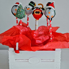 Cake pops #christmasedition _minjamaswee
