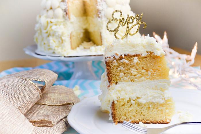 Vanilla&Coconut Cake / Vanila i kokos torta