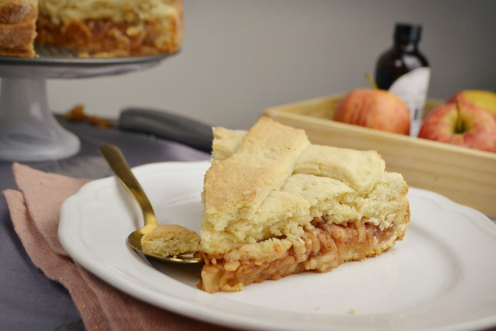 Lazy Apple Pie