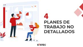 """""""Planes de trabajo no detallados"""" (4/10) Factores que destruyen proyectos"""