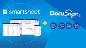 Smartsheet se asocia con DocuSign