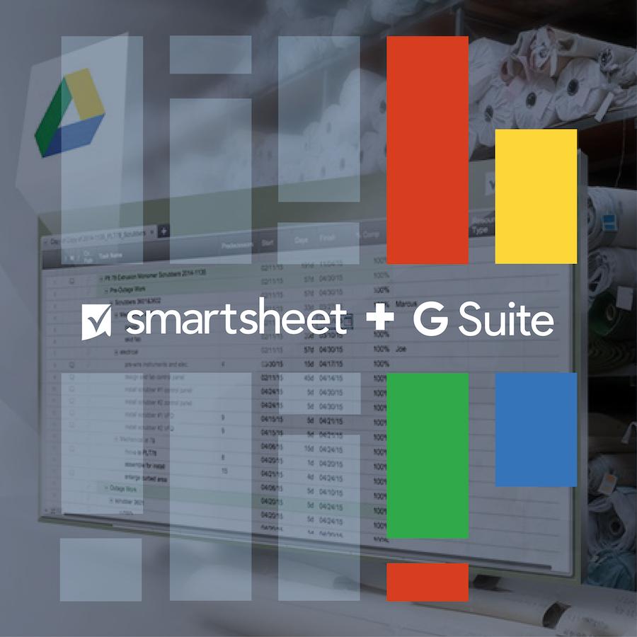 Integraciones entre G Suite y Smartsheet