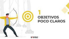 """""""Objetivos poco claros"""" (1/10) Factores que destruyen proyectos"""