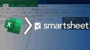 Aprende cómo importar de forma exitosa hojas de Excel a Smartsheet