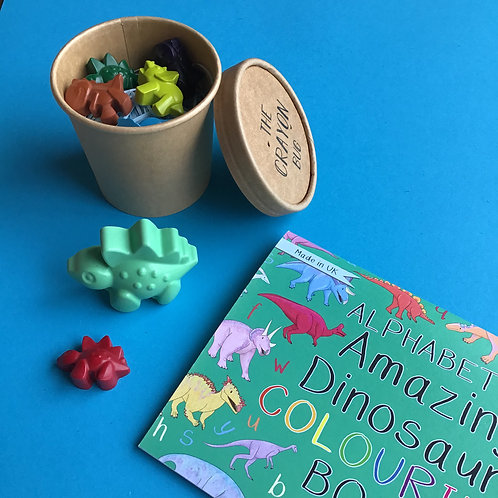 Dinosaurs Pick 'n' Mix Colouring Book Set