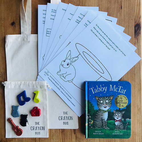 Tabby McTat Inspired Story Activity Pack