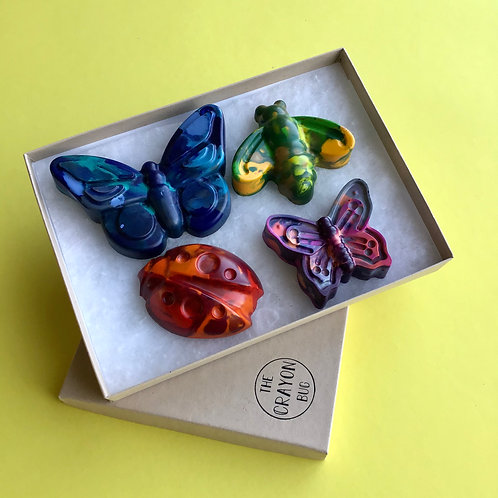 Giant Marbled Bug Crayons