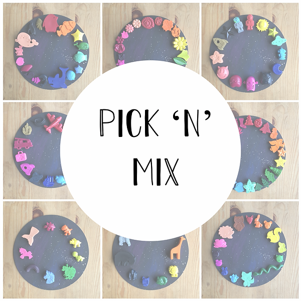 Crayon Pick n mix Grid Image - www.thecr