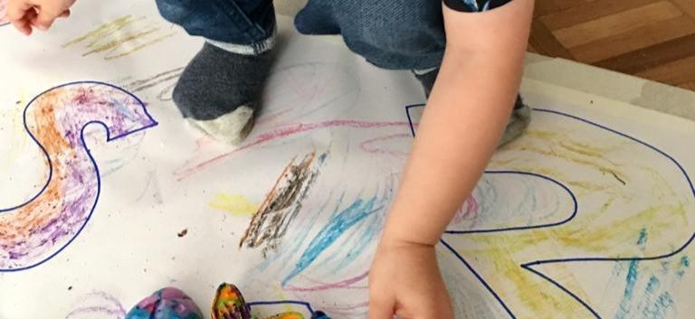 Marbled Bug Crayons
