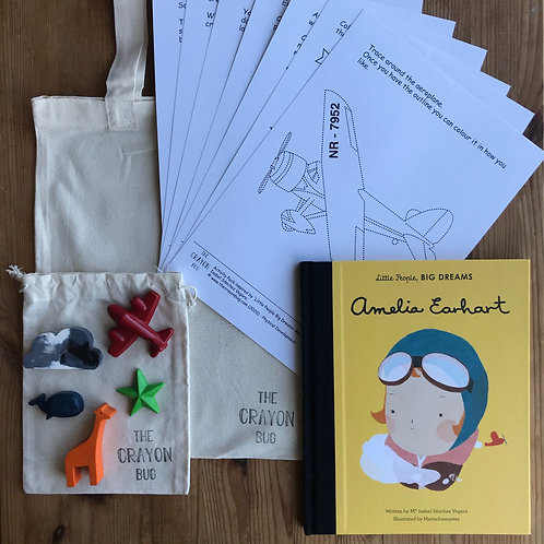 *Little People Big Dreams: Amelia Earhart Inspired Story Activity Pack*