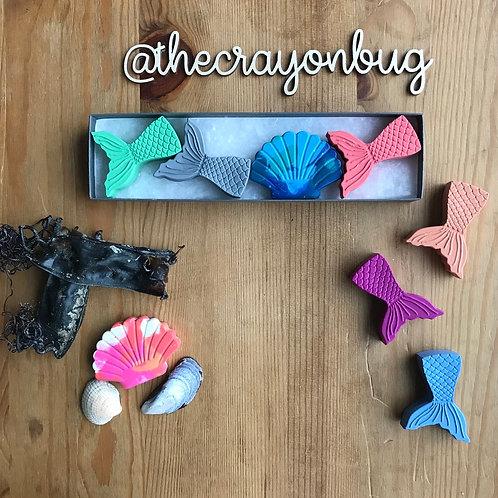 Mermaid Crayons