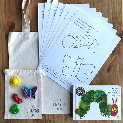 The Very Hungry Caterpillar Inspired Story Activity Pack