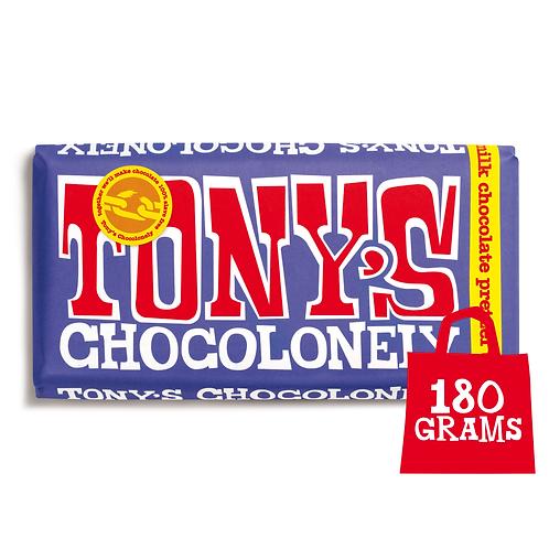 Tony's Chocolonely Dark Milk Pretzel Toffee 180g