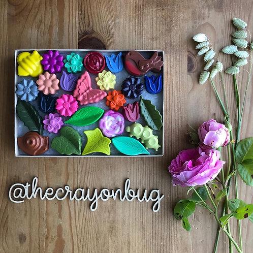Summer Garden Crayons