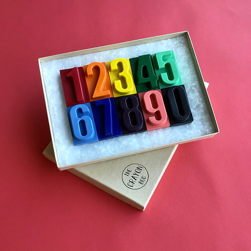 *Number Crayons*