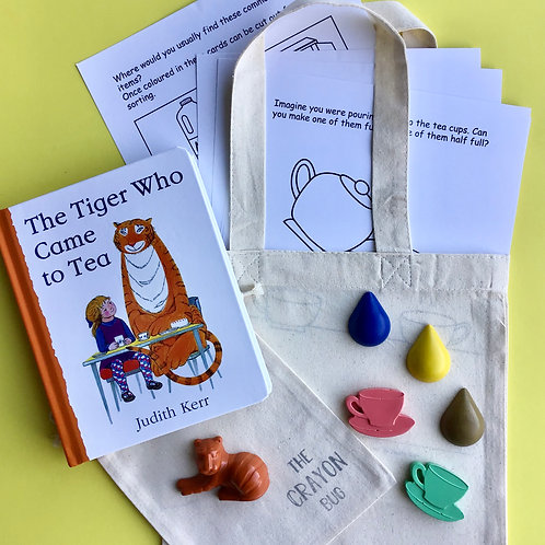 The Tiger Who Came to Tea Inspired Story Activity Pack