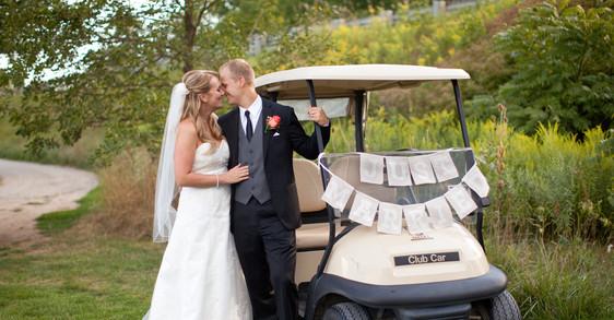 wedding golf cart outdoors.jpg