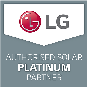 LG SOLAR Authorised Platinum Partner Log