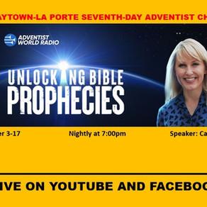 Bible Prophecy Seminar!