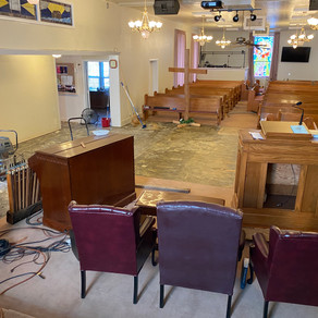 Water Damage at Church!