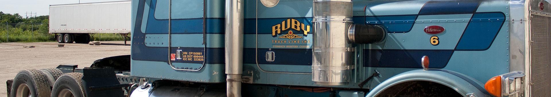 Ruby Truck Line Inc