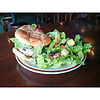 The Parkway Tavern serves appetizers, sandwiches, soups, salads and burgers.